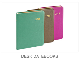 2015 Leather Desk Datebooks