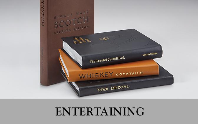 Leather Bound Entertaining Books