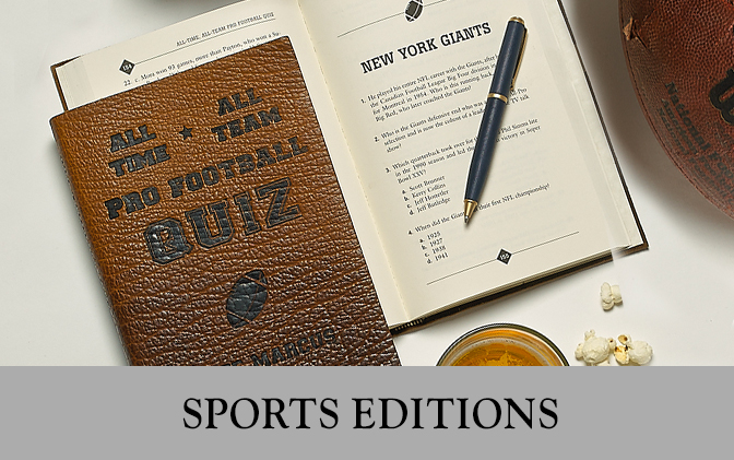 Leather Bound Sports Books