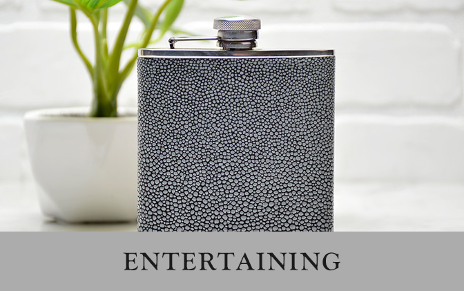 Leather Entertaining Accessories