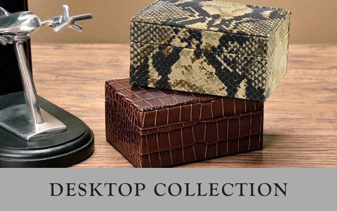 Leather Desktop Collection