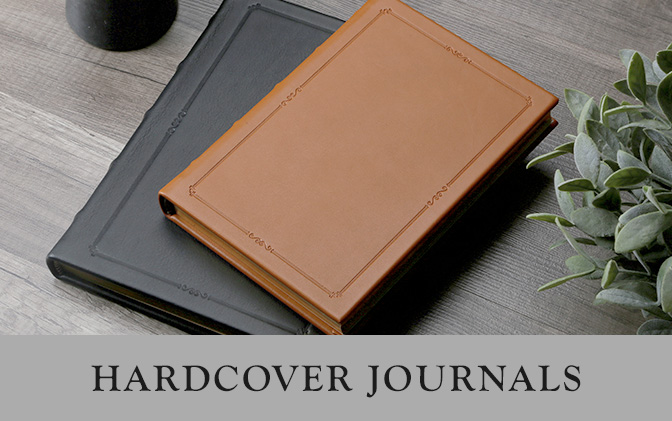 Leather Hard Cover Journals