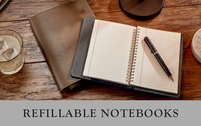 Leather Refillable Journals
