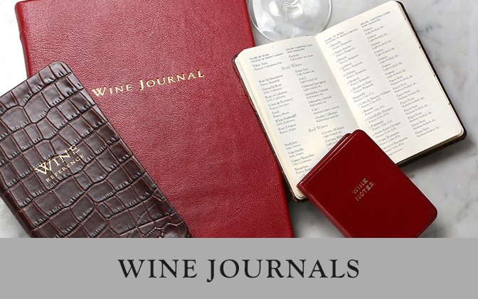 Leather Wine Journals