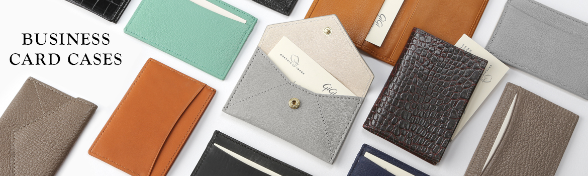 leather business card cases - Business Card Cases