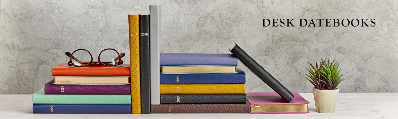 Leather Desk Datebooks