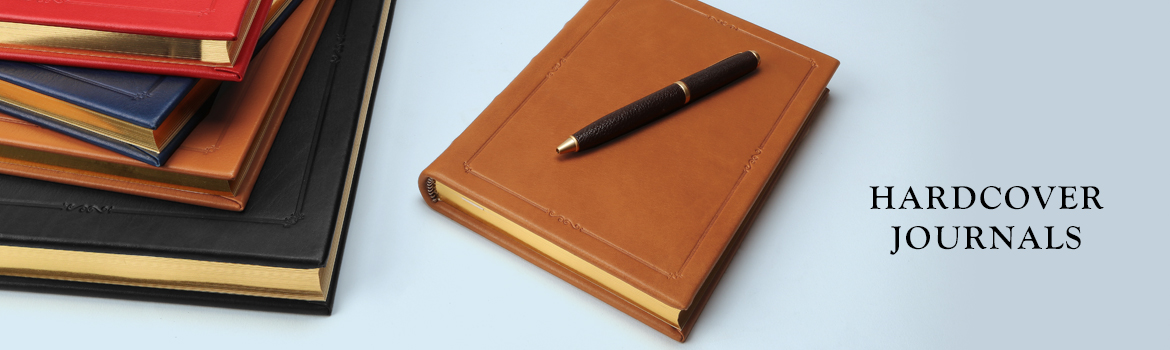Leather Hardcover Journals