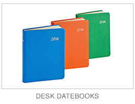Leather Desk Datebooks