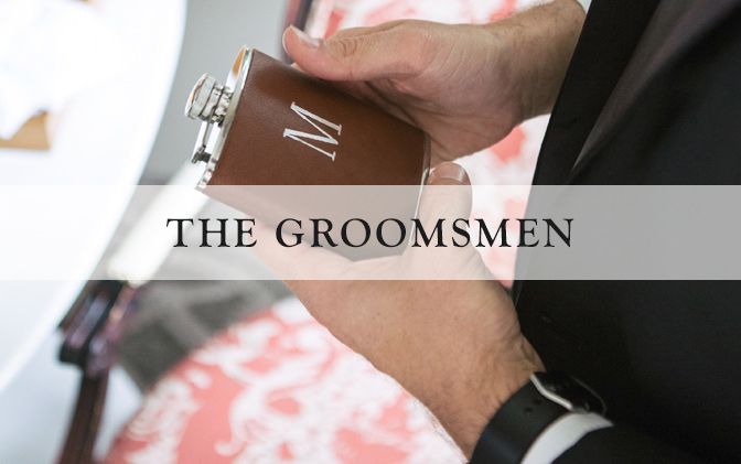 Leather Groomsmen Gifts