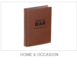 Leather home and occasion books