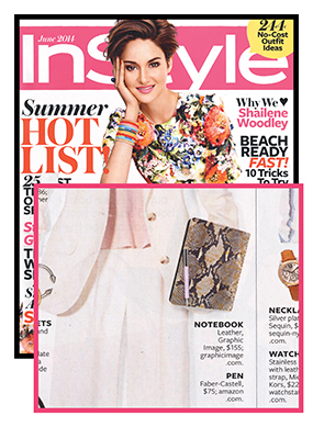 Instyle Magazine: June 2014
