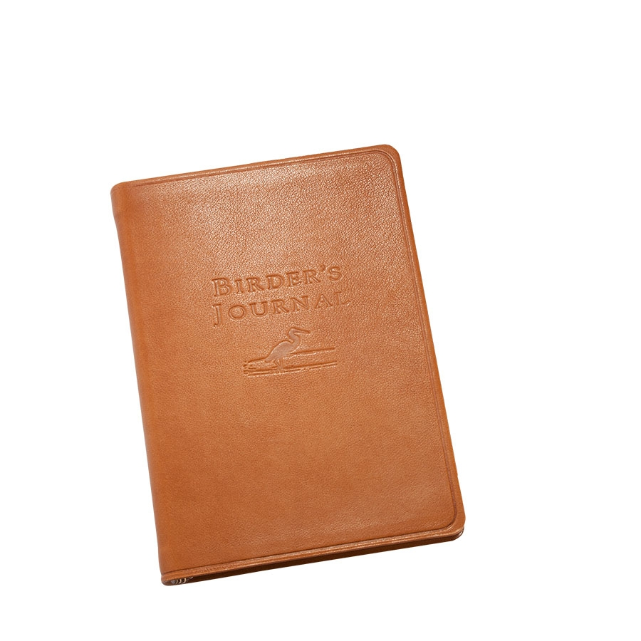 Birder's Journal   Traditional Leather BRD TR1