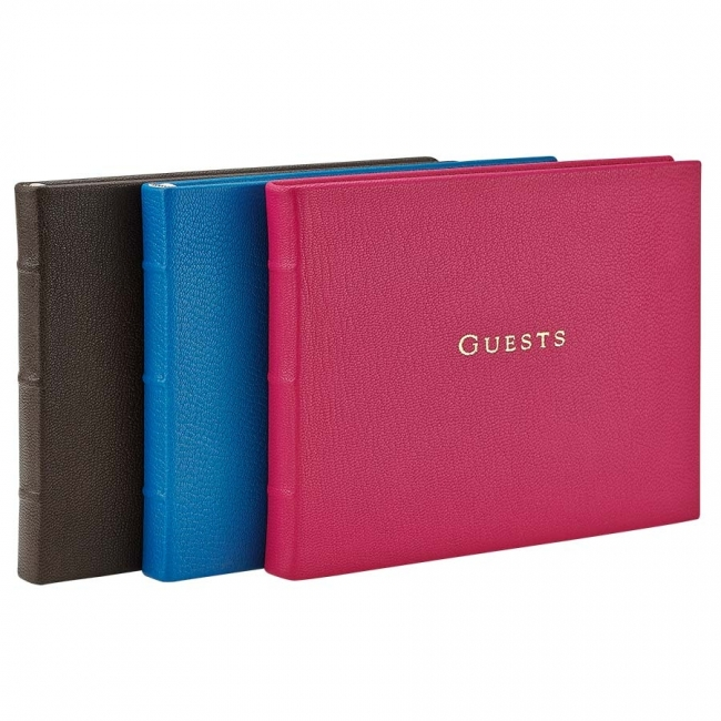 Guest Book  Brights Leather