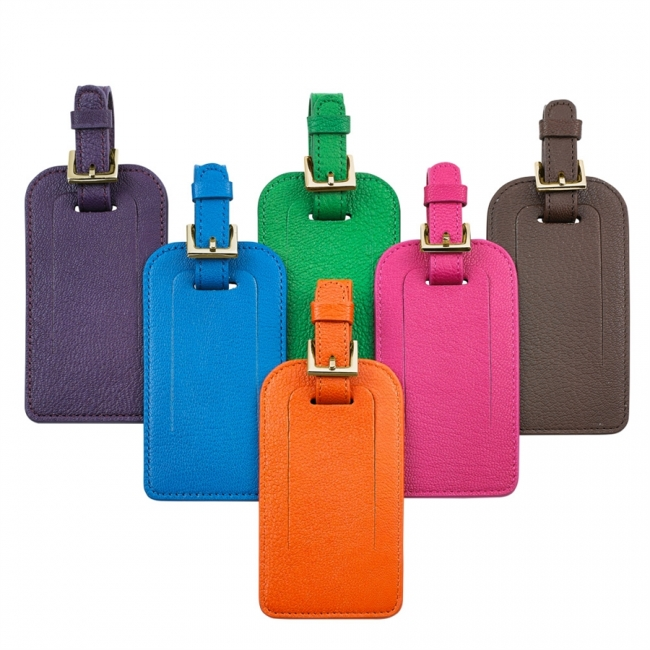 Luggage Tag  Brights Leather